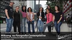 Turma presente no curso de MIKSANG em 25/11/12 na Av. Paulista