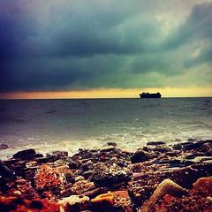 By : #iphone #photography #photographer #kuwait #kik #instagram #sea #sky #HDR