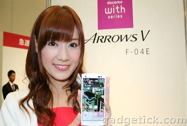 дата выхода Fujitsu Arrows V F-04E