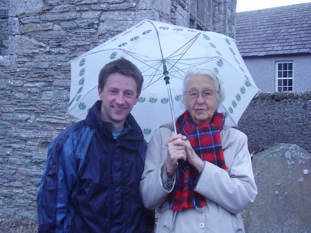 Elsie and the umbrella