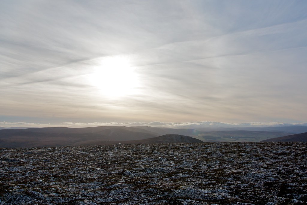 Sunlight over the Cairngorms