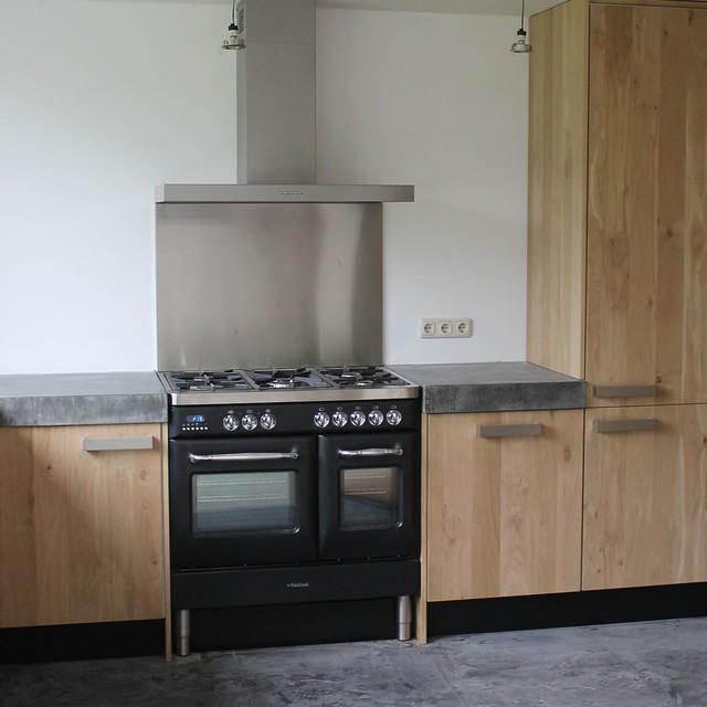 Koakdesign Keuken : Koak Design Massief eiken houten keuken met ikea keuken