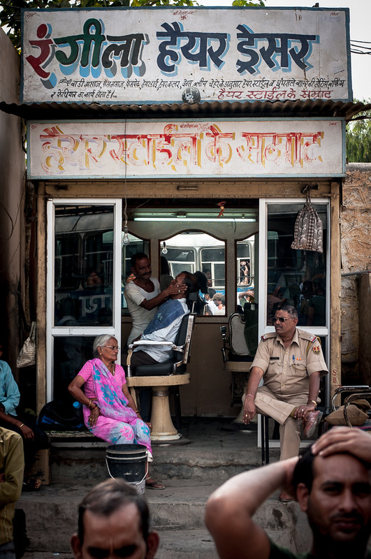 Barbershop in Ajmer