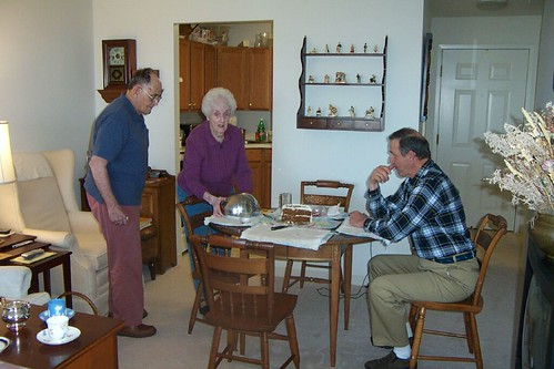 Dad, Mom & Paul @ Brooksby Apt.