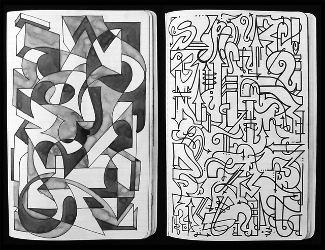Sketchbook : Free Form Flow.