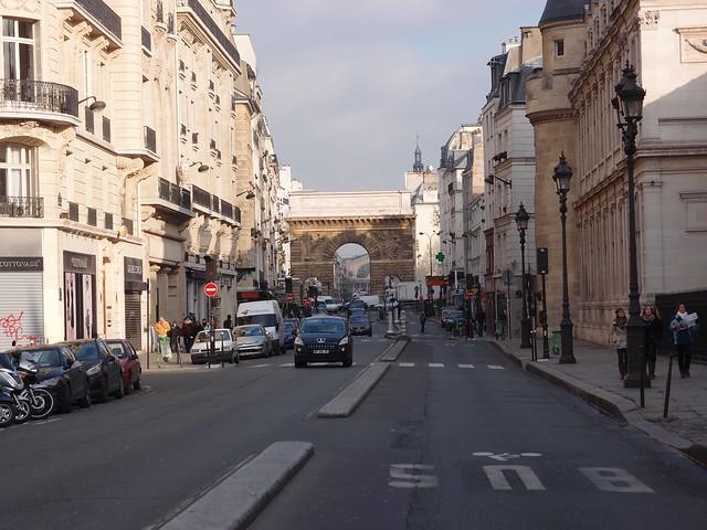 Porte saint martin paris flickr photo sharing for Porte saint martin