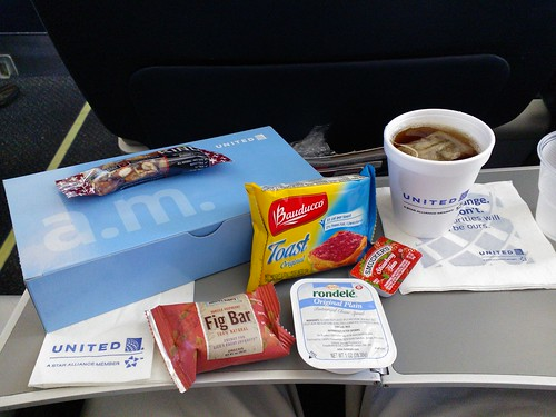 United Domestic a.m. Snack Box