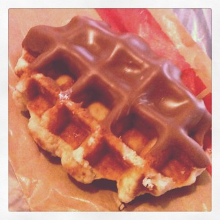 Chocolate-covered Waffle