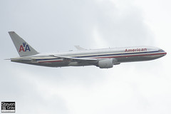 N786AN - 30250 - American Airlines - Boeing 777-223ER - Heathrow - 120721 - Steven Gray - IMG_5698