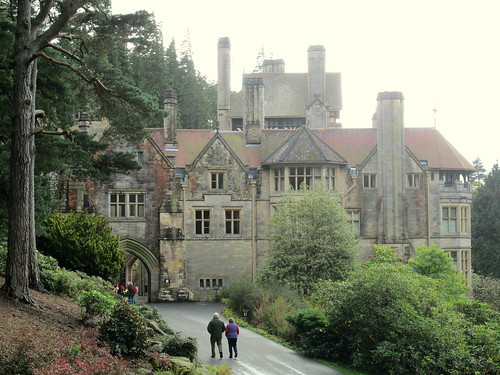 Cragside, view from car park