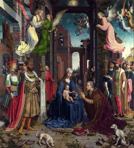 Jan Gossaert - The Adoration of the Kings [1510-15] by Gandalf's Gallery