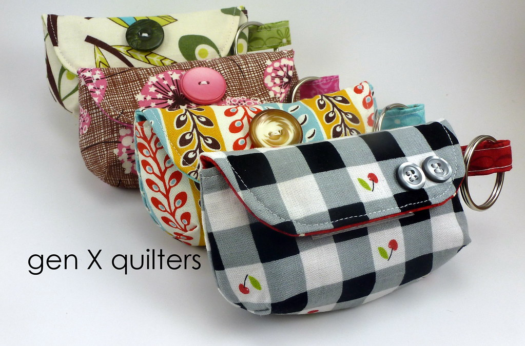4 Keychain Clutches