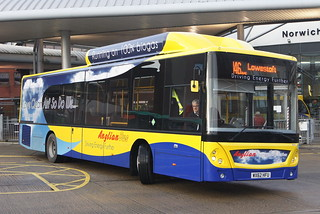 Anglianbus MAN EcoCity 606 WX62HFU (c) David Bell