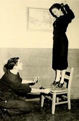 Wittiest, Senior Superlatives, E. M. Holt High School, Burlington, NC, 1959