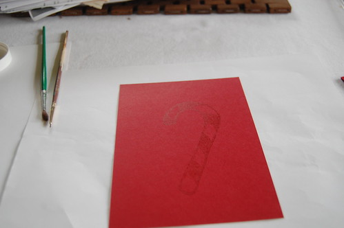 embossed holiday card tutorial