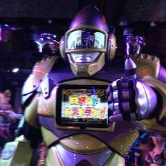 #robot  ロボットレストラン。非常に興味深かったwww