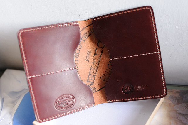 Color #2 Shell Cordovan Fat Herbie Wallet