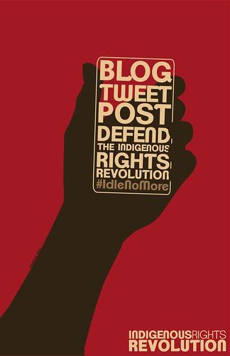 Blog Idle No More