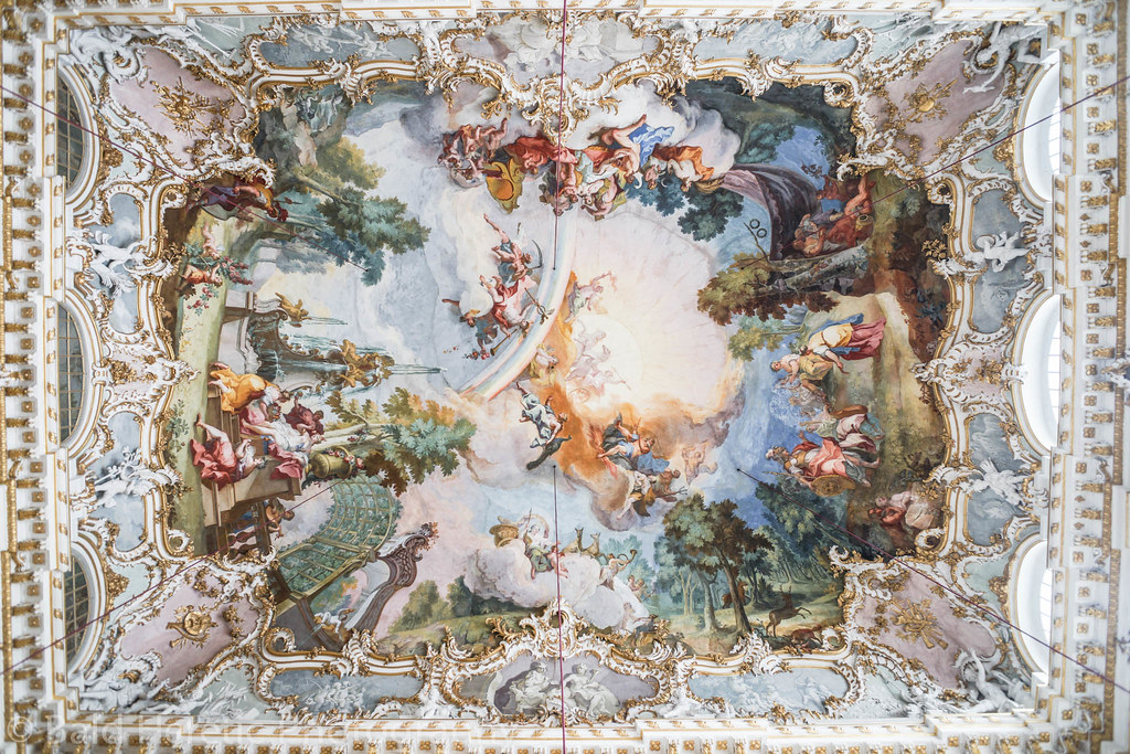 Nymphenburg Palace Ceiling