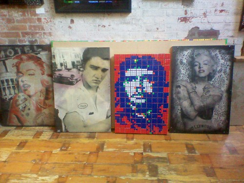 Che Guevara among the icons at Cube Works, Distillery District