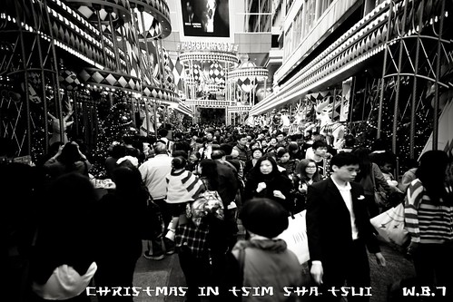 CHRISTMAS IN TSIM SHA TSUI by Colonel Flick/WilliamBanzai7