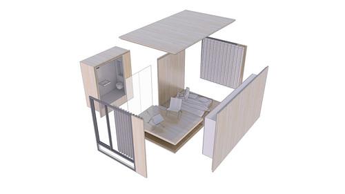 Microloft door JagerJanssen architecten BNA