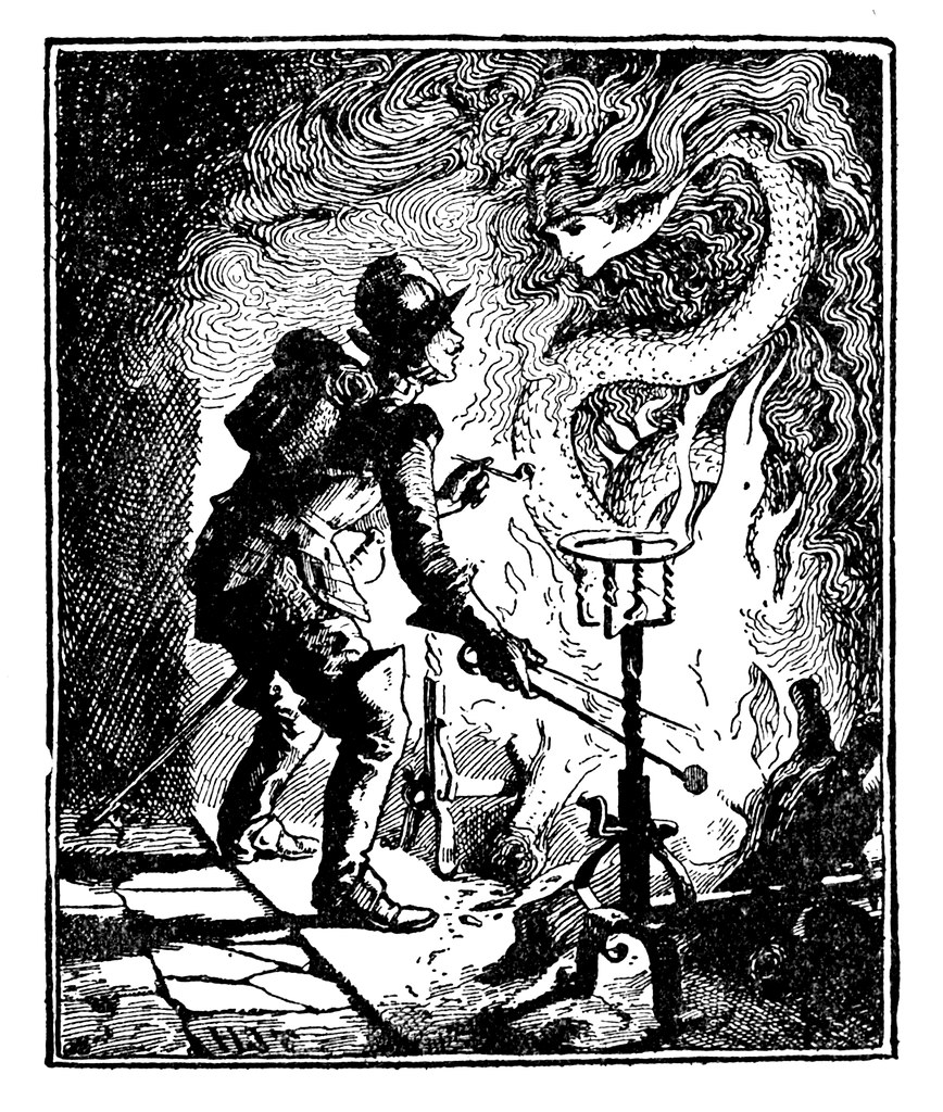 Henry Justice Ford - The green fairy book, edited by Andrew Lang, 1900 (illustration 5)
