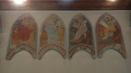 DSCN3881 _ Allegoria di Sant'Agostino come Maestro dell'Ordine (fascimile del disegno a tempera su carta), Girolamo Domenichini