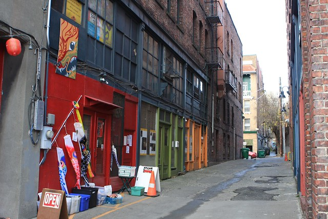 Long View of Canton Alley