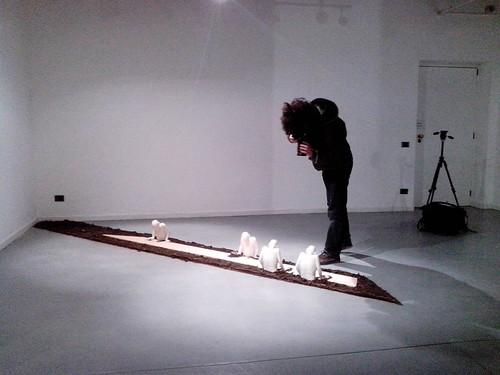 Fotografando l'installazione di Marta Fumagalli by Ylbert Durishti