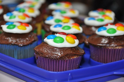 Artist Palette Cupcakes