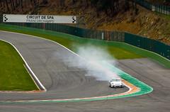 Circuit de Spa Francorchamps - Freinage raté