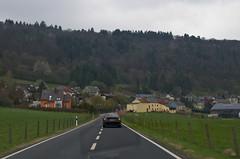 Sur la route au Luxembourg