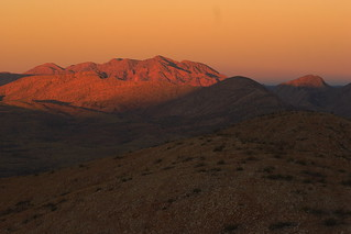 Mount Giles at sunset