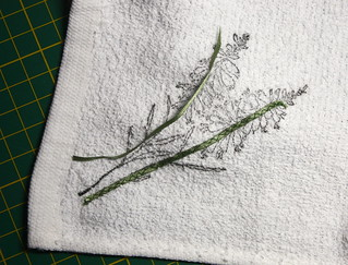 Stitching the stems