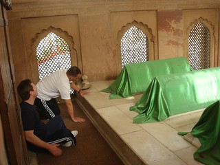 Resting Place of Hazrat Mirza Jan-i Janan and 3 of his deputies