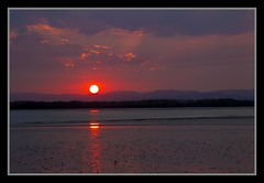 Hayes Inlet Sunset 17th Dec2012=