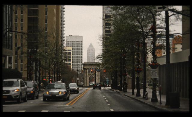 Downtown Atlanta, December, 2012