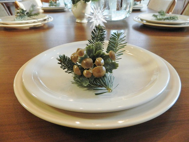 rustic table setting via homeologymodernvintage.com
