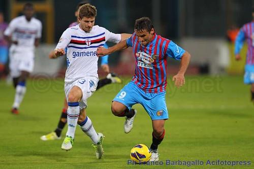 Sampdoria-Catania: probabili formazioni