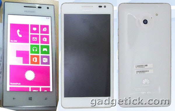 Huawei Ascend W1 и Ascend D2