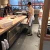 The dough room @tartinemanufactory where the magic happens. Love those cold drawers.
