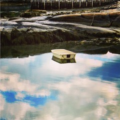 This was in #Stonington #maine years ago. I loved this dinghy! #igersmaine #mainelife
