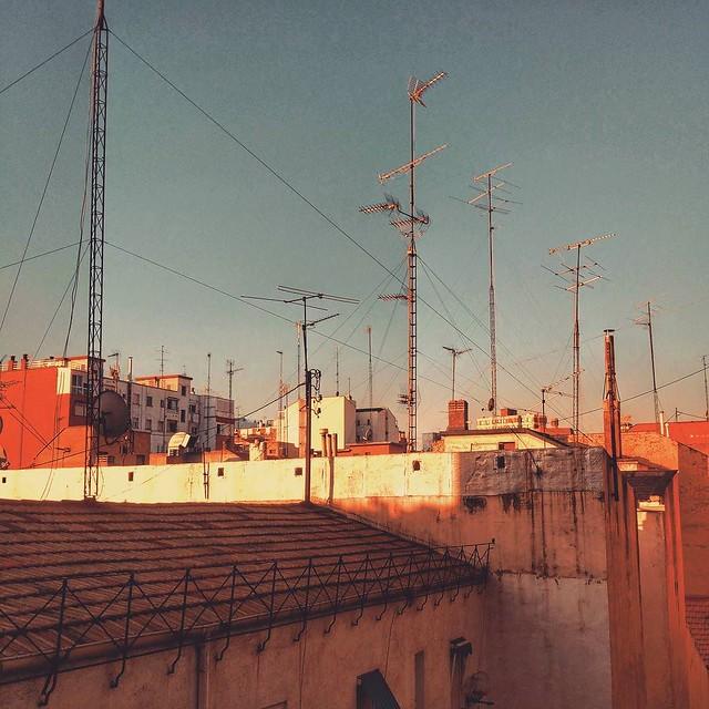 Mar de antenas...