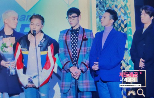 Big Bang - The 5th Gaon Char K-Pop Awards - 17feb2016 - With G-Dragon - 08