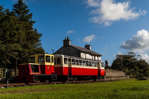 donegal fintown fintownrailway ireland railway railcar