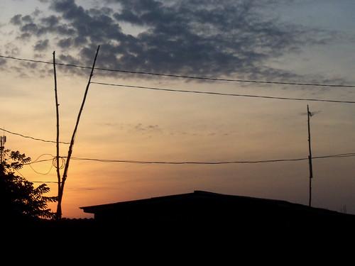 sunset westafrica togo lomé