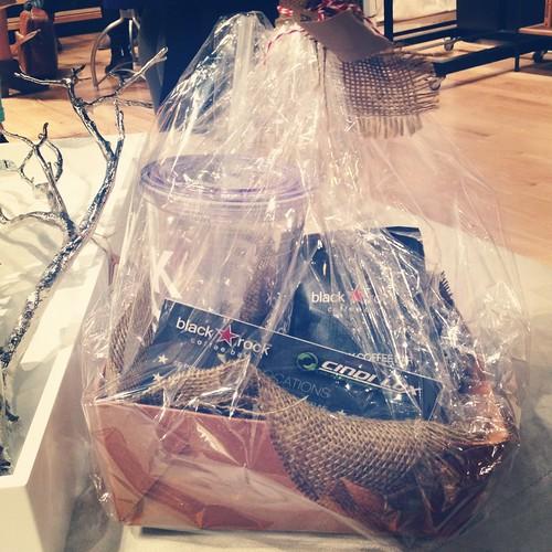 Black Rock coffee gift basket