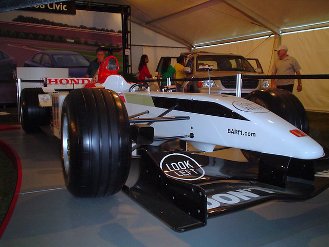 BAR-Honda F1 Car Replica at Georgian Auto Show 2005