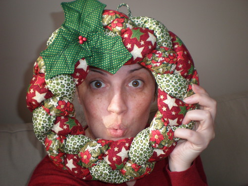 Self-Portrait with Wreath